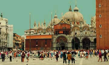 St.Mark's Cathedral and the Palace in Venice